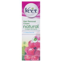 Veet® Natural Inspirations Hair Removal Cream with Grape Seed Oil 100ml
