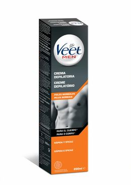 Crema Depilatoria Veet for Men - Piel Normal