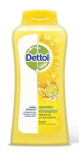 เดทตอล เจลอาบน้ำ แอนตี้แบคทีเรีย สูตรเฟรช