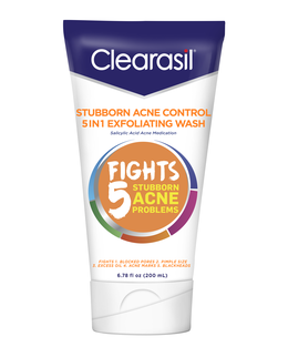 CLEARASIL® Stubborn Acne Control 5in1 Exfoliating Wash 12/6.78 oz.