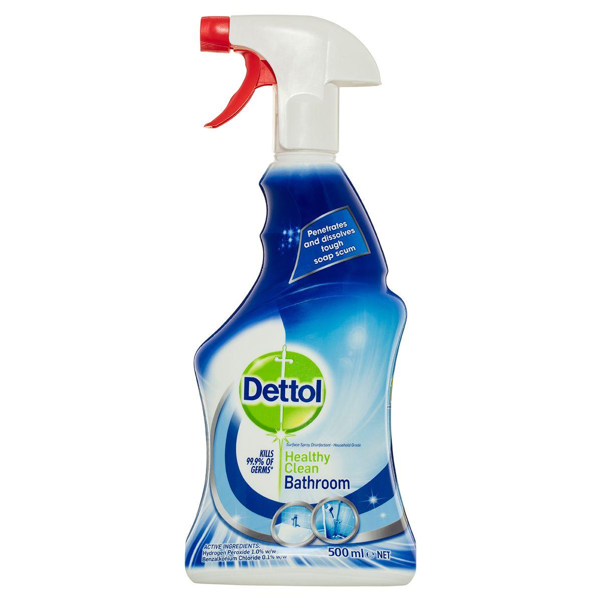 Dettol Healthy Clean Bathroom Spray 500mL