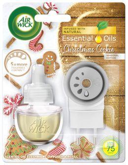 Air Wick Elektromos légfrissítő készülék és utántöltő - Karácsonyi süti