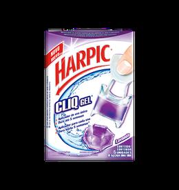 HARPIC CLIQ GEL ADESIVO - Lavanda