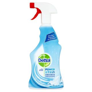 Dettol Power & Fresh Advance Antibacterial Multi-Purpose Spray - Linen