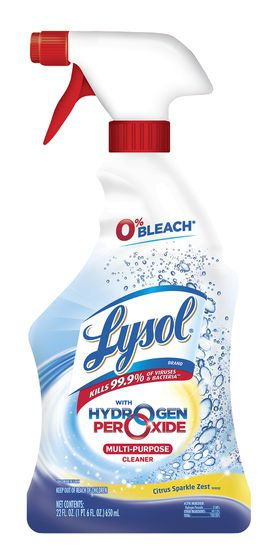 Lysol® with Hydrogen Peroxide Multi-Purpose Cleaner - Citrus Sparkle Zest