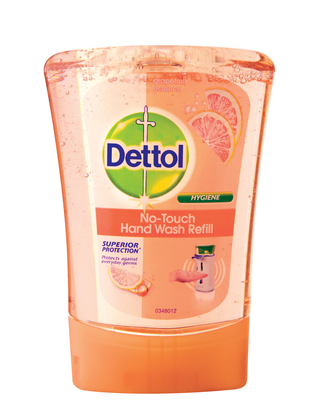 Dettol no touch handwash grapefruit