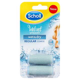 Scholl Velvet Smooth™ Wet & Dry Replacement Roller Heads