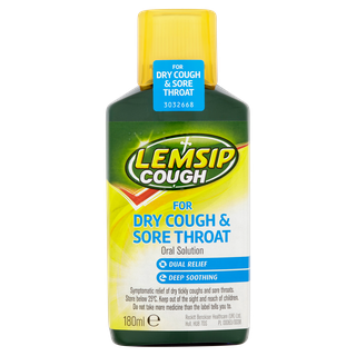 Lemsip Cough For Dry Cough & Sore Throat