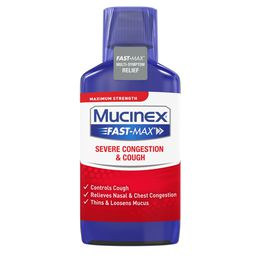 Maximum Strength Mucinex® Fast-Max® Severe Congestion and Cough, Liquid