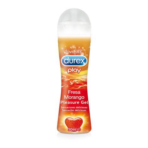 Durex Play Lubricante Sabor Fresa 50 ml
