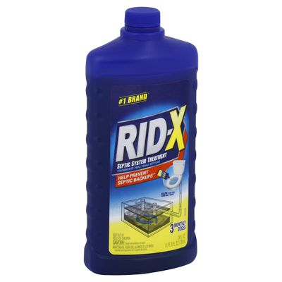 Rid X 174 Septic Tank System Treatment Liquid