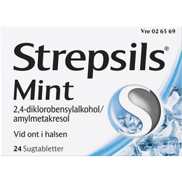 Strepsils Mint sugtabletter 24 st.