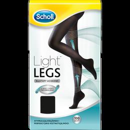 Scholl Light Legs™ Rajstopy Uciskowe 60 DEN Czarne