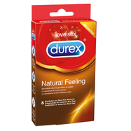 Durex Natural Feeling, 8 Kondome