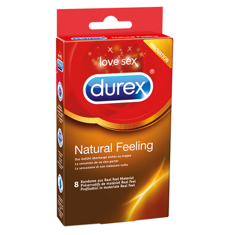 Durex Natural Feeling, 8 Kondome