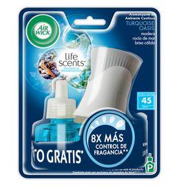 Air Wick® Eléctrico Turquoise Oasis Aparato + Repuesto 21 ml