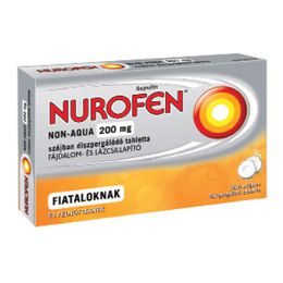 Nurofen Non-Aqua 200mg szájban diszpergálódó tabletta
