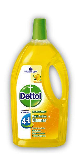 Dettol 4in1 Disinfectant Multi Action Cleaner Lemon 900ml