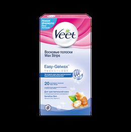 Восковые полоски Veet для чувствительной кожи с технологией Easy-Gelwax (1)