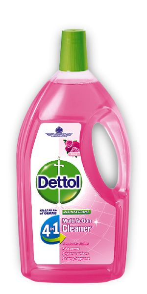 Dettol 4in1 Disinfectant Multi Action Cleaner Rose 1.8L