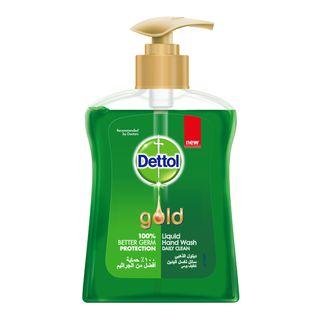Dettol Gold Anti-Bacterial Liquid Handwash Daily Clean 200ml