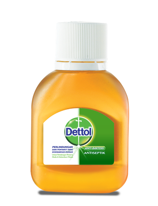 Dettol Anti Bakteri Antiseptik Cair (50ml)