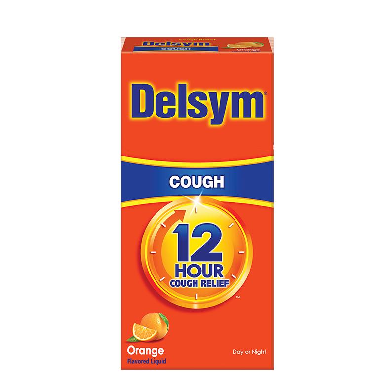 delsym 12 hour cough syrup orange flavor delsym