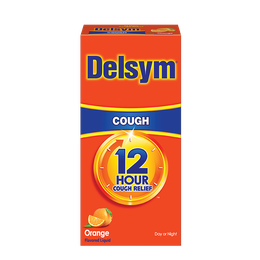 Delsym® 12 Hour Cough Relief - Orange Flavor