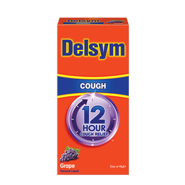 Delsym® 12 Hour Cough Relief - Grape Flavor