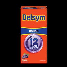 Delsym® 12 Hour Cough Relief - Grape Flavor