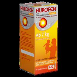 Nurofen® Junior Fieber- und Schmerzsaft 40 mg/ml Suspension zum Einnehmen 100 ml Orange