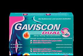 Gaviscon Dual Kautabletten 16er