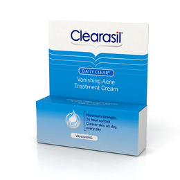 Clearasil Daily Clear Vanishing Acne Treatment Cream, 1 Ounce