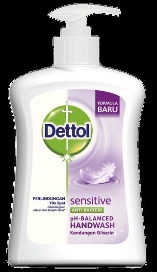 Sabun Cuci Tangan Anti Bakteri Dettol Sensitive (200ml)