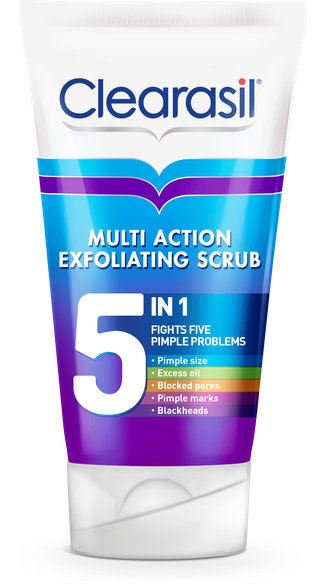 Clearasil® Multi Action 5 In 1 Exfoliating Scrub