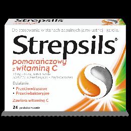 Strepsils® Pomarańczowy z Witaminą C
