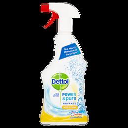 Dettol Power & Pure Advance Kitchen Spray - Hob & Sink