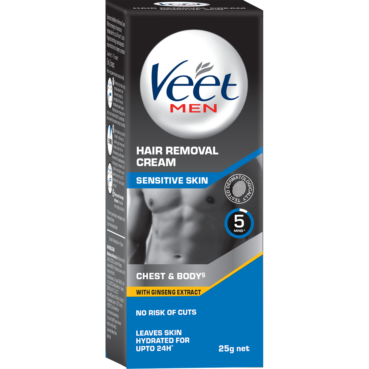 Buy Veet Men Hair Removal Cream Sensitive Skin Cream 25g Pack