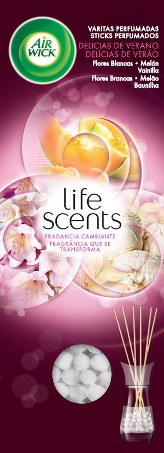 Sticks Perfumados Life Scents Delícias de Verão