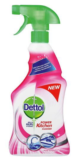 Dettol Hygiene Cleaner Kitchen Trigger Grape Fruit