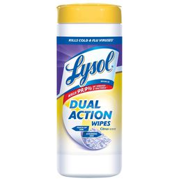 Lysol® Dual Action Disinfecting Wipes