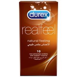 Durex Condoms Real Feel Natural Skin Feeling