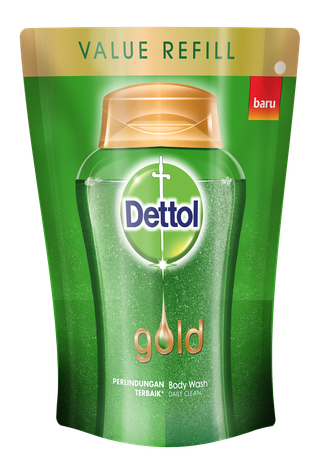 Sabun Cair Anti Bakteri Dettol Gold Daily Clean (250ml)