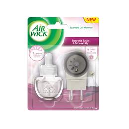 Elektrický osviežovač vzduchu - strojček & náplň - Jemný Satén