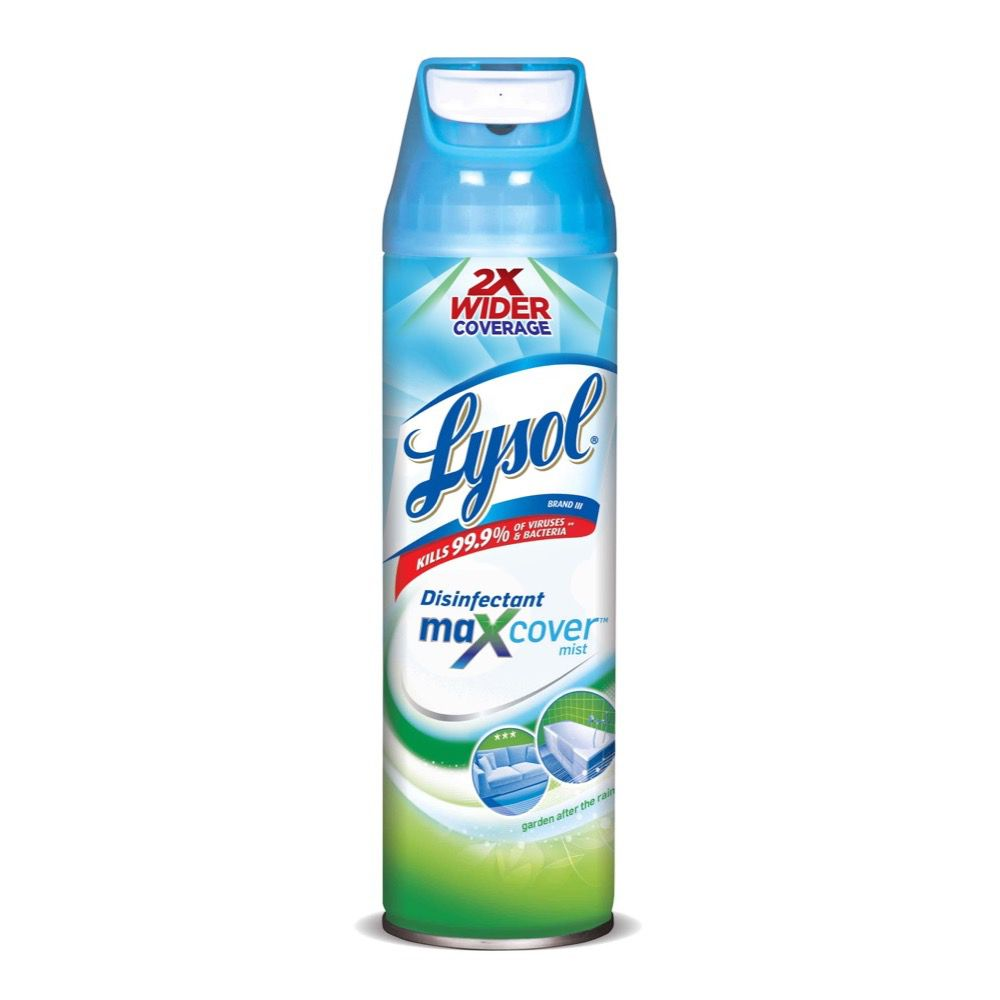 disinfectant spray lysol
