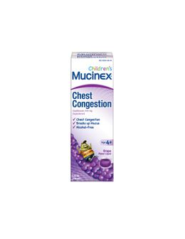 Children's MUCINEX® Chest Congestion