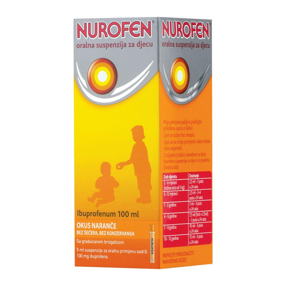 Nurofen Oralna Suspenzija za djecu od 6 do 12 godina