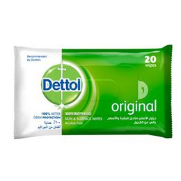 Dettol Anti-Bacterial Multi-Use Wipes Original
