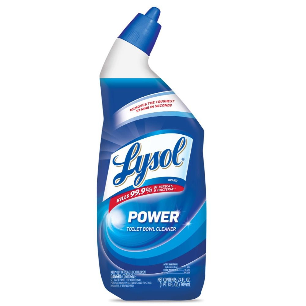 Lysol power toilet bowl cleaner cleaning products for Lysol power bathroom cleaner
