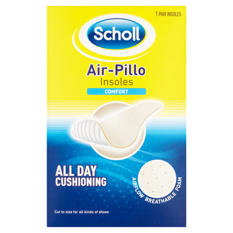 Scholl Air Pillo Comfort Insoles